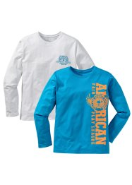 Le lot de 2 T-shirts manches longues (bpc bonprix collection)