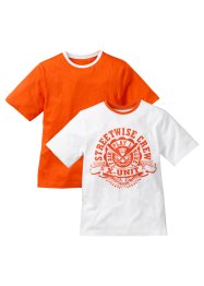 Le lot de 2 T-shirts (bpc bonprix collection)