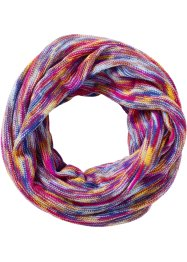 Écharpe-tube multicolore, bpc bonprix collection, fuchsia/multi