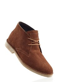Boots en cuir, bpc bonprix collection, cognac