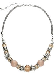 Collier, bpc bonprix collection, marron clair/argenté