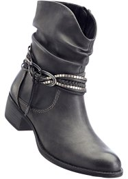 Bottines, bpc bonprix collection, anthracite