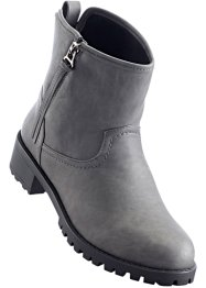 Bottines, bpc bonprix collection, gris foncé