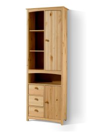 Colonne large Paula, bpc living, bois naturel