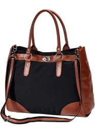 Sac Carina, bpc bonprix collection, noir/marron
