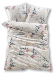 Linge de lit Nautical, bpc living, bleu