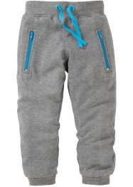 Pantalon matière sweat, bpc bonprix collection, gris chiné