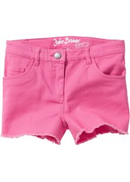 Short avec franges, John Baner JEANSWEAR, rose flamant