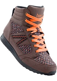 Chaussures de randonnée, bpc bonprix collection, marron/orange