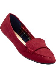 Mocassins, bpc bonprix collection, rouge