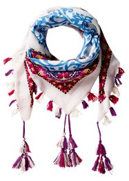 Foulard Kendra, bpc bonprix collection, blanc/multicolore