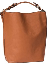 Shopper Basic, bpc bonprix collection, cognac