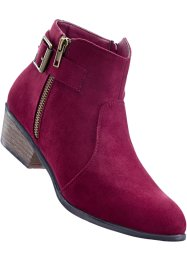 Bottines, bpc bonprix collection, bordeaux