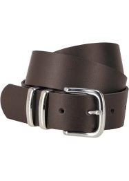 Ceinture en cuir Dustin, bpc bonprix collection, marron