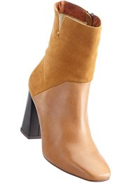 Bottines en cuir, BODYFLIRT, camel