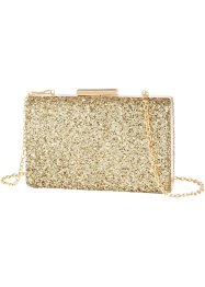 Sac-coffret  Paillettes, bpc bonprix collection, gold
