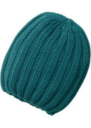 Beanie Mia, bpc bonprix collection, pétrole