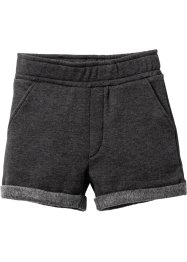 Short sweat, bpc bonprix collection, anthracite chiné
