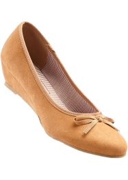 Ballerines, bpc bonprix collection, marron clair