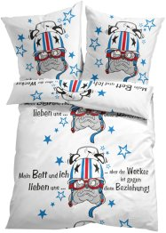 Linge de lit Racing Dream, bpc living, multicolore