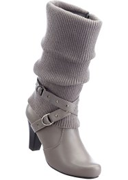 Bottes, bpc bonprix collection, gris/anthracite