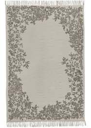 Tapis Ashley, bpc living, écru/gris