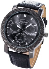 Montre homme, bpc bonprix collection, noir