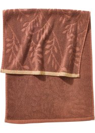 Serviette de toilette Jungle, bpc living, marron