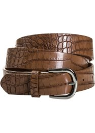 Ceinture aspect croco, bpc bonprix collection, camel