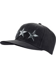Casquette Star, bpc bonprix collection, noir/anthracite