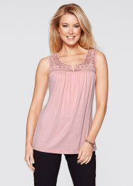Top avec dentelle, bpc bonprix collection
