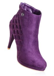 Bottines, bpc selection, violet foncé