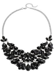 Collier, bpc bonprix collection, argenté/noir
