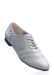 Chaussures à lacets, bpc bonprix collection, gris