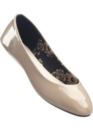 Ballerines en 2 largeurs, bpc bonprix collection, taupe normal