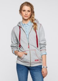 Gilet sweat-shirt, John Baner JEANSWEAR