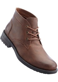Bottines homme, bpc selection, marron foncé