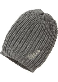 Bonnet oversize Jenny, bpc bonprix collection, gris