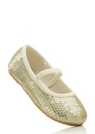 Ballerines, bpc bonprix collection, jaune or