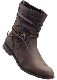 Bottines, bpc bonprix collection, marron foncé