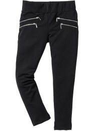 Pantalon extensible sweat, bpc bonprix collection, noir