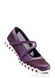 Ballerines, bpc bonprix collection, prune