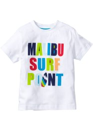 T-shirt, bpc bonprix collection, blanc imprimé