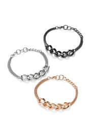 Set de 3 bracelets, bpc bonprix collection, multicolore