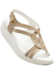 Sandales, bpc bonprix collection, beige