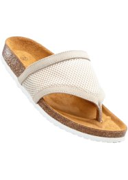 Mules entredoigt, bpc bonprix collection, beige