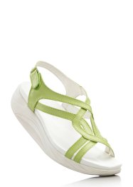 Sandales, bpc bonprix collection, vert clair