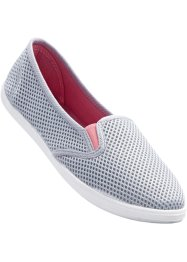 Slippers, bpc bonprix collection, gris/rose