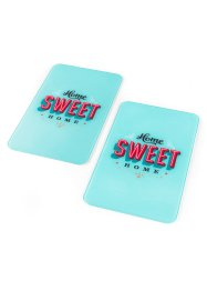 Plaques de protection Sweet Home (Ens. 2 pces.), bpc living, multicolore