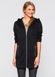 Gilet sweat long, bpc bonprix collection